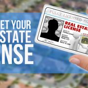 get a real estate license