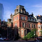 back bay brownstones